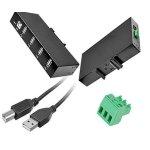 USB Hub und Kabel